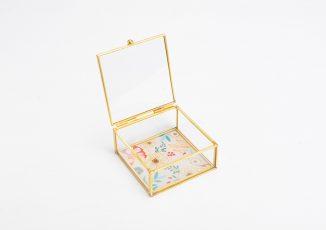 BOITE BIJOUX ROSE PM ref150900-15€