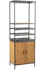 armoire pour bouteilles et verres - ref 1130 - 419€