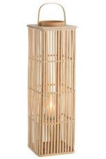 lanterne long bambou naturel ref 91267-64€