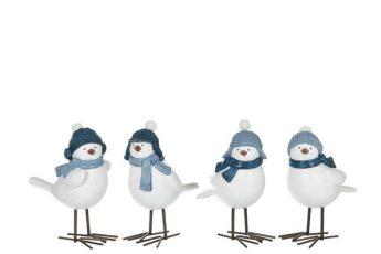 oiseau bonnet bleu ref 95479- 8€