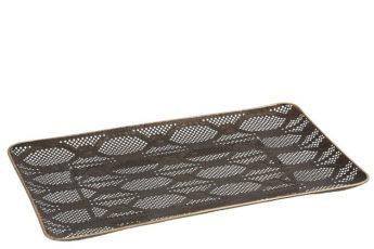 plateau tara metal antique ref 85896-25€
