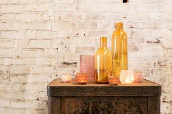 vase bouteille jaune ref 96855-37€ et ref 96856-43€